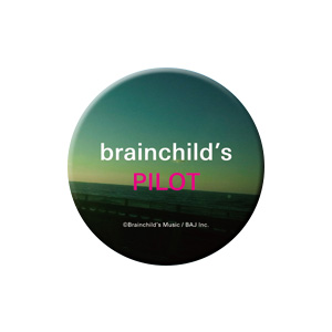brainchild's TOUR 2017 G??会場特典:缶バッチ