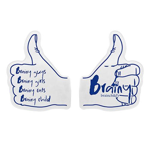 "brainchild's ""Brainy Thumbs Up!! de Cheers UP!! フォームフィンガー"
